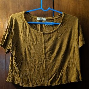Forever 21 crop top T-shirt